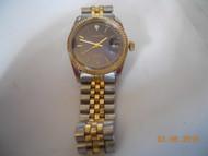 Men's SERGIO VALENTE WATCH Stainless & Gold tones w/ Diamond chip