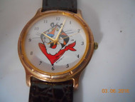 TONY THE TIGER  WATCH Leather Band Unworn New Battery