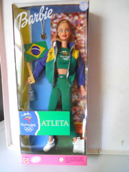 SYDNEY SUMMER OLYMPICS 2000 BRAZIL Barbie NRFB