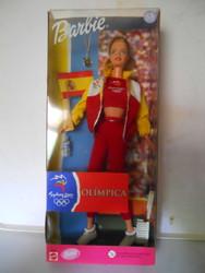 SYDNEY SUMMER OLYMPICS 2000 SPAIN Barbie NRFB