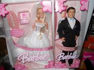BEAUTIFUL BRIDE BARBIE / HANDSOME GROOM  2004 NRFB