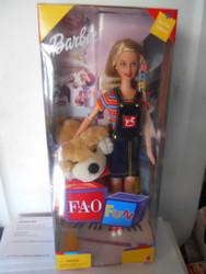 FAO FUN BARBIE w/ Patrick the Pup FAO SCHWARZ