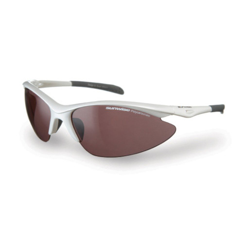 Sunwise Peak Sports Sunglasses White
