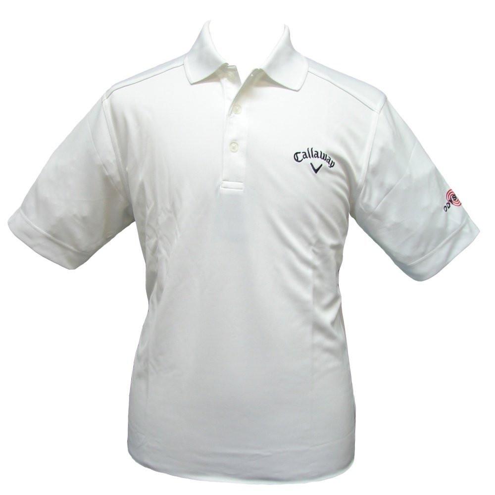 c20b3e099 Callaway Mens Chev Tour Odyssey Golf Shirt Medium Bright White. £29.99  £19.99. (You save £10.00). Image 1