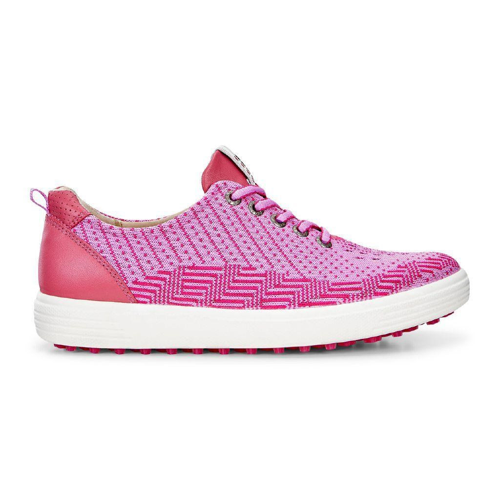 1a66333b8b Ecco Womens Casual Hybrid Golf Shoes Pink Beetroot Fandango Size 38 (UK  5-5.5)
