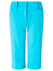 Callaway Ladies Golf City Shorts Blue Atoll Size 10