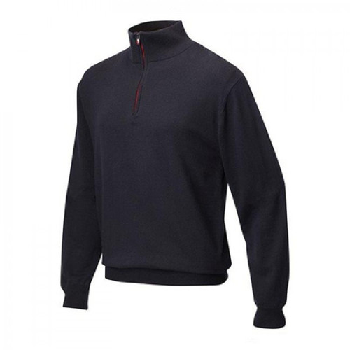 JRB Mens Lined Golf Sweater Navy