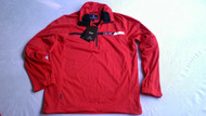 Cross Mens Pro Waterproof Stretch Golf Pullover Zip-Off Sleeves Motor Red