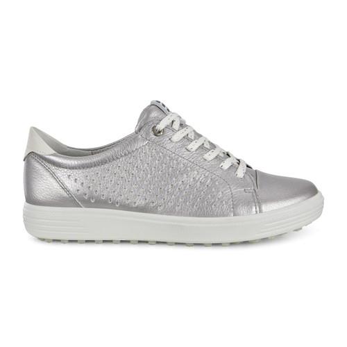 Ecco Womens Casual Hybrid Golf Shoes Alusilver
