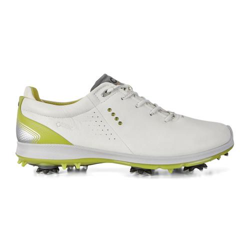 Ecco Mens Biom G2 Goretex Golf Shoes White Kiwi
