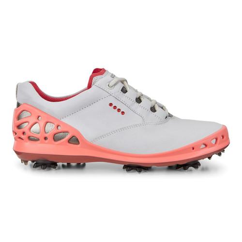 Ecco Women's Cage Goretex Golf Shoes White Coral