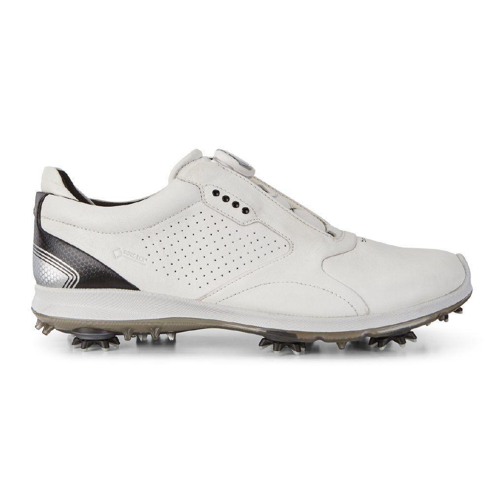 4dcd004dbc6293 Ecco Mens Biom G2 Boa Goretex Golf Shoes Navy Brick | London Pro Golf