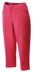 RB Ladies Capri Cropped Golf Trousers Fuchsia