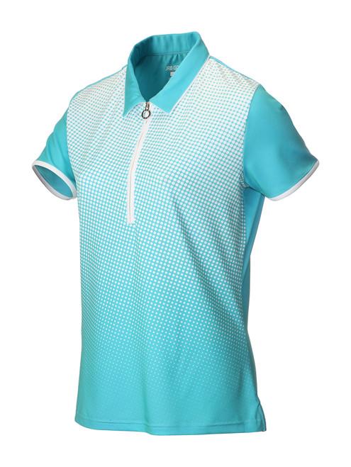 JRB Ladies Spot Short Sleeved Golf Shirt New for 2018