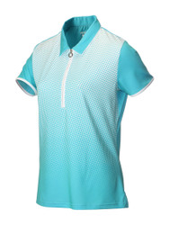 JRB Ladies Spot Short Sleeved Golf Shirt New for 2018