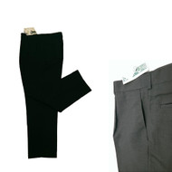 GTC Mens Classic Plain Black Golf Trousers