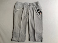 JRB Ladies Golf  Black Striped CITY SHORTS  + FREE Socks (Sizes 10 & 14 only)