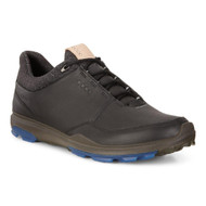 Ecco Mens Biom Hybrid 3 Goretex Golf Shoes Black Blue - New for 2018