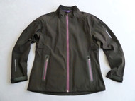 Benross X-Tex Ladies Waterproof Jacket Black Purple Size 14