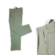 GTC Mens Classic Plain Taupe Golf Trousers