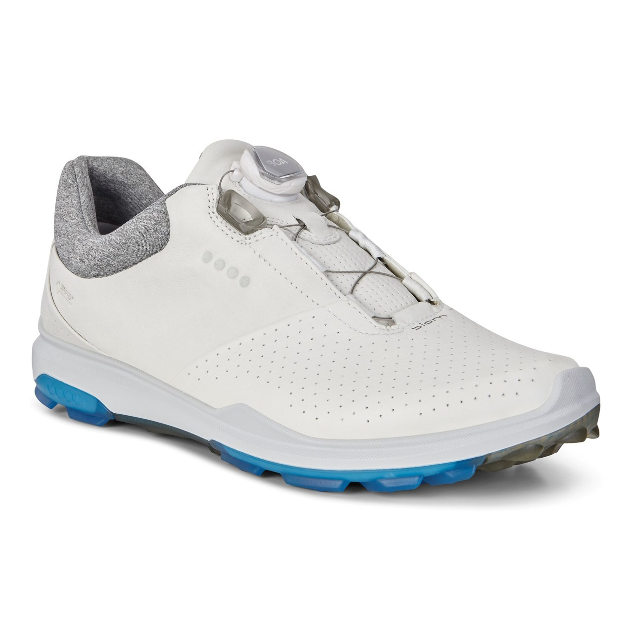 649e22c0 Ecco Mens Biom Hybrid 3 Goretex Boa Golf Shoes White Dynasty