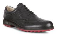 Ecco Mens Tour Hybrid Golf Shoes Black