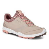Ecco Women's Biom Hybrid 3 Goretex Golf Shoes Oyster Muted Clay