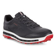 Ecco Mens Cool Pro Golf Shoes Black Brick Extra Width