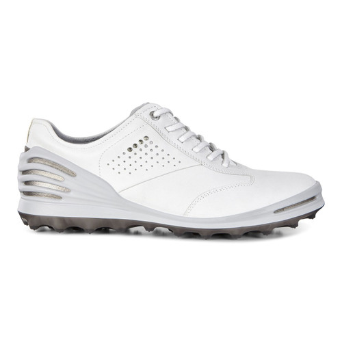 Ecco Mens Cage Pro Golf Shoes White