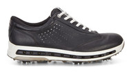 Ecco Mens Golf Cool Goretex Shoes Black Transparent