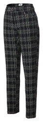 JRB Ladies Windstopper Lined Golf Trousers Check
