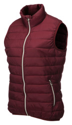 JRB Ladies Golf Gilet Bodywarmer Burgundy