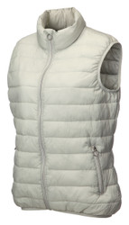 JRB Ladies Golf Gilet Bodywarmer Light Grey