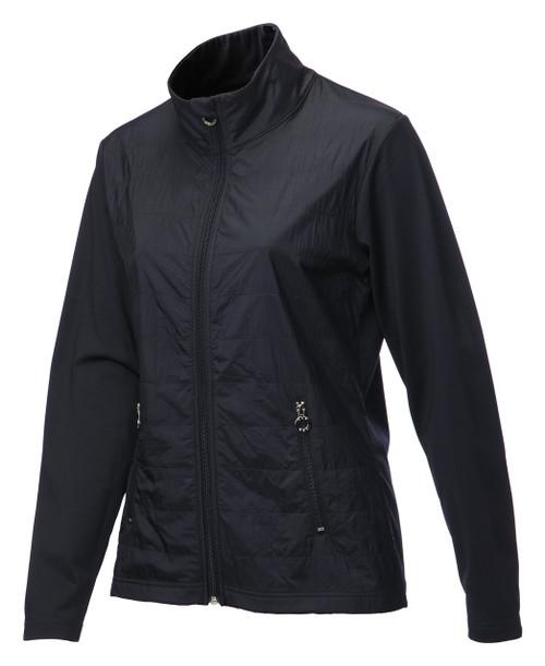 JRB Ladies Windproof Golf Jacket Navy
