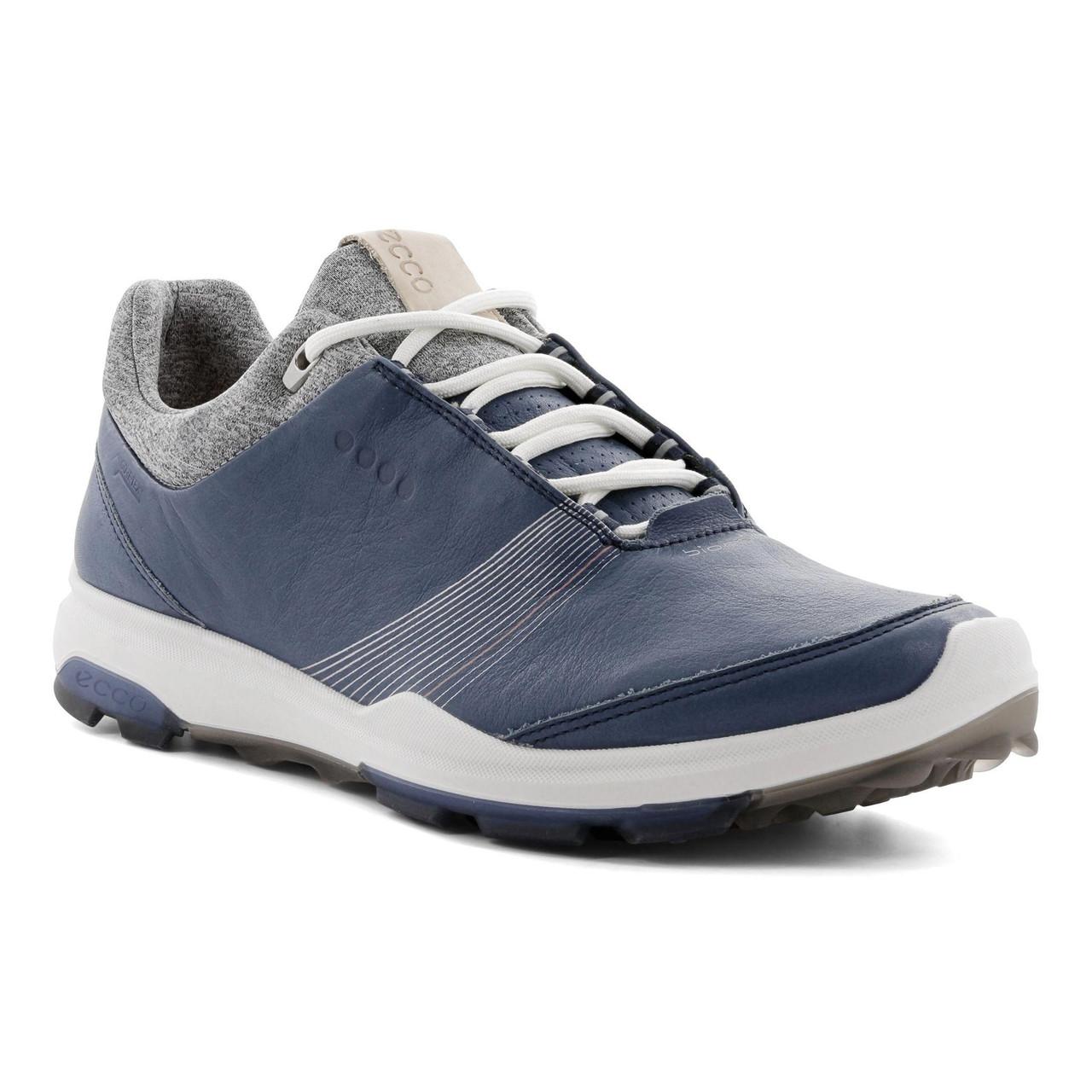 wie kommt man akzeptabler Preis preiswert kaufen Ecco Women's Biom Hybrid 3 Goretex Golf Shoes Denim Blue Ex Width Option