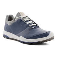 Ecco Women's Biom Hybrid 3 Goretex Golf Shoes Denim Blue