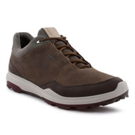 Ecco Mens Biom Hybrid 3 Goretex Golf Shoes Camel