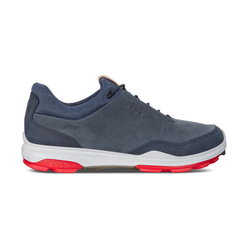 Ecco Mens Biom Hybrid 3 Goretex Golf Shoes Ombre Antilope