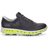 Ecco Mens Golf Cool Goretex Shoes Black Extra Width Option