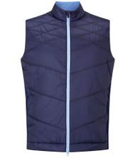 Callaway Golf Mens Chev Puffer Vest Peacoat