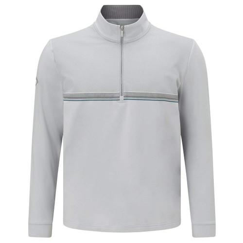 Callaway Golf Mens 1/4 Zip Chillout Top Pearl Blue