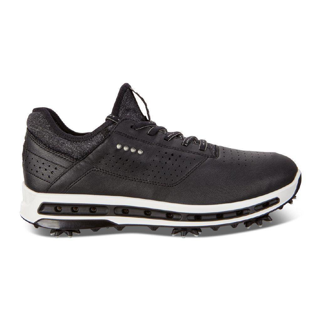 51a49d1d7ba657 Ecco Mens Golf Cool Goretex Shoes Black Dritton Extra Width Option