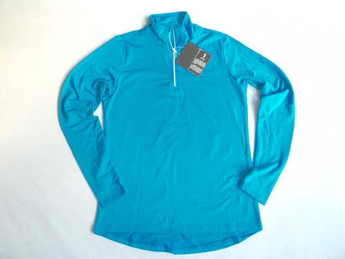 JRB Ladies 1/4 Zipped Golf Top Delphinium Blue