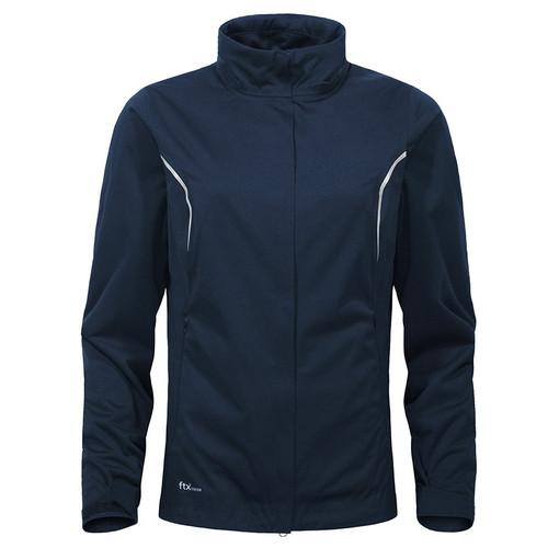 Cross Ladies Pro Waterproof Stretch Golf Jacket Navy