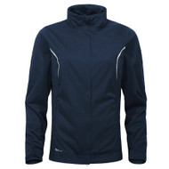 Cross Ladies Pro Waterproof Stretch Golf Jacket Navy