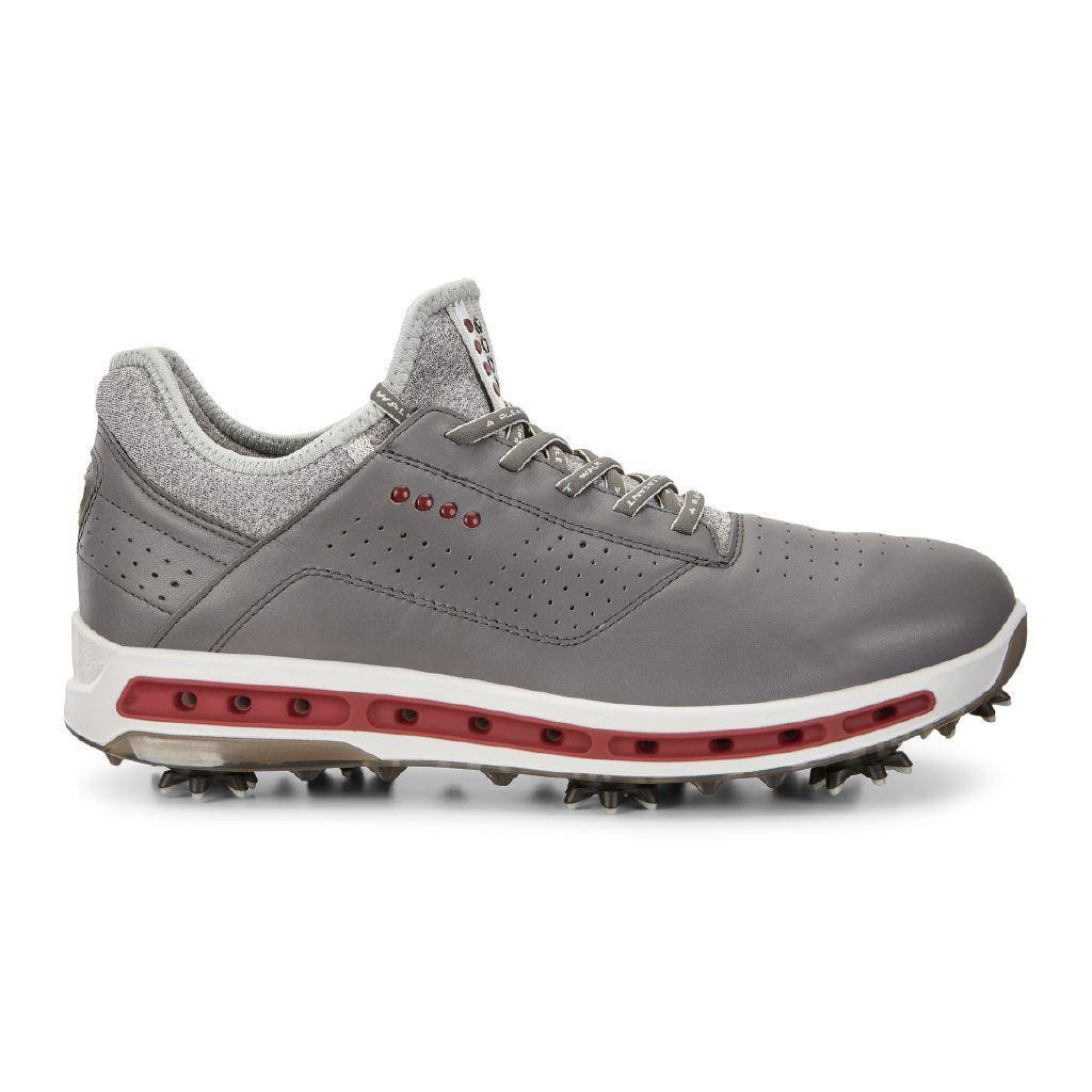 511fa8c0 Ecco Mens Golf Cool Goretex Shoes Dark Shadow Extra Width Option Size 45  (UK 10.5)