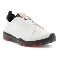 Ecco Mens Biom Hybrid 3 Goretex Golf Shoes White Racer