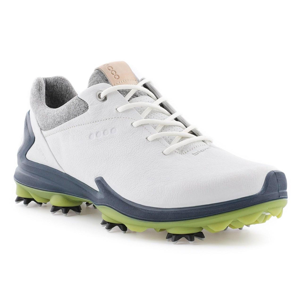 05b926bb388 Ecco Mens Biom G3 Goretex Golf Shoes White Dark Shadow - London Pro Golf