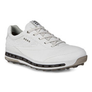 Ecco Mens Cool Pro Golf Shoes White Black Extra Width Option