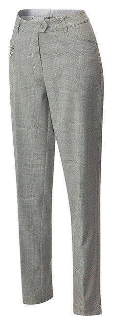 JRB Ladies Classic Golf TROUSERS Black Check